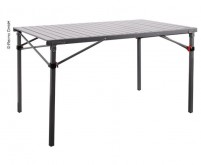 Table de camping 120x70x70cm anthracite, aluminium