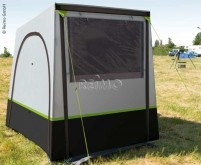 Tente arrière TUFFI 2 - pour vans/motorhomes, gris/citron vert