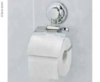 Toilettenpapier-Halter mit Saugnapf, Masse: 13x15cm