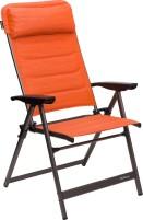 Berger chaise pliante Slimline Orange, noir