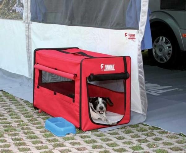 CARRY DOG - niche pour chien pliable