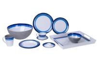 Berger Mélamine Assiette à soupe Blueline
