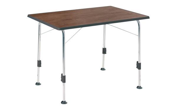 Table pliante Dukdalf Stabilic II aspect bois 100 x 68 cm