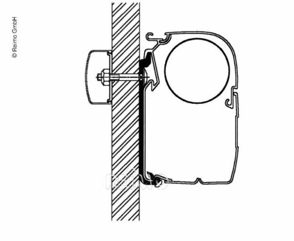 Jeu d'adaptateurs plats Omnistor, série 5 - 40 cm (5pcs)