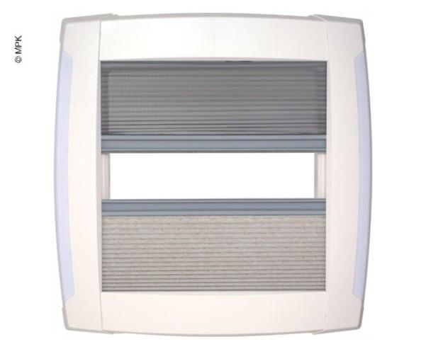 Plisseerahmen m.LED 40x40
