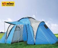 Tente familiale CREASTONE PEAK 4 pour 4 personnes, (125+ 200+125)x210x190cm