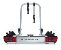 Heckträger Strada DL2 für Anhängerkupplung klappba r für 2 Fahrräder
