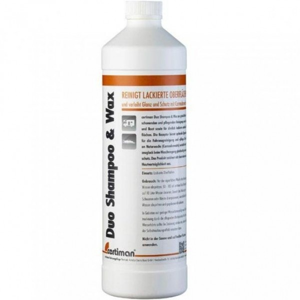 Duo Shampoo & Wax