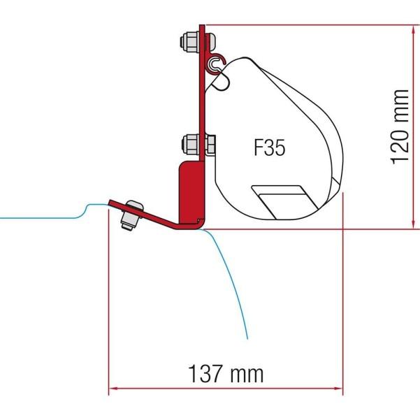 Fiamma F35 Pro Kit Ford Custom Ford Custom II