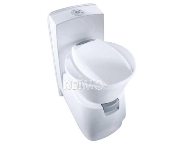 Toilette Dometic CTW4110 w. Réservoir d'eau douce de 7l, réservoir d'eaux usées de 1 9l