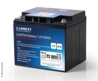 Batterie au phosphate de fer lithium (LiFePo4), 60Ah