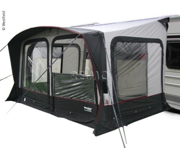 Auvent de caravane OMEGA AIR 400, tente à air, y compris l'airp umpe