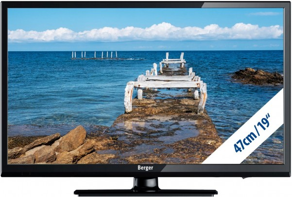 Berger Camping TV TV LED 19 pouces