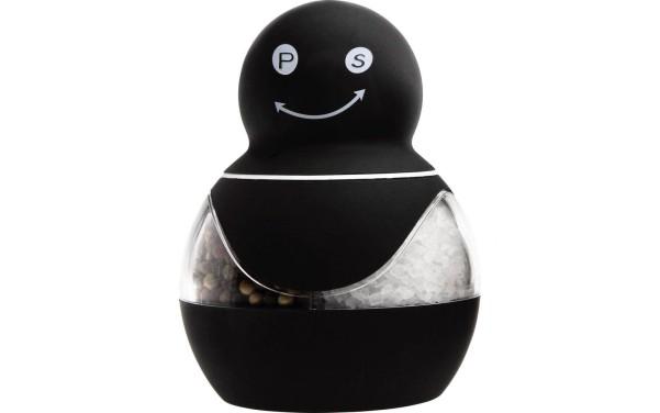 2in1 Salz-/Pfeffermühle schwarz