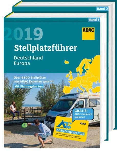 ADAC Stellplatzführer Deutschland & Europa 2019 in