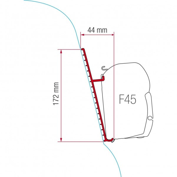 F45 Kit Fiberglasdach