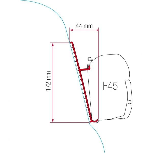 F45 Kit Fiberglasdach Fieberglasdach