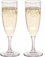 Lot de 2 verres à champagne en plastique de Berger