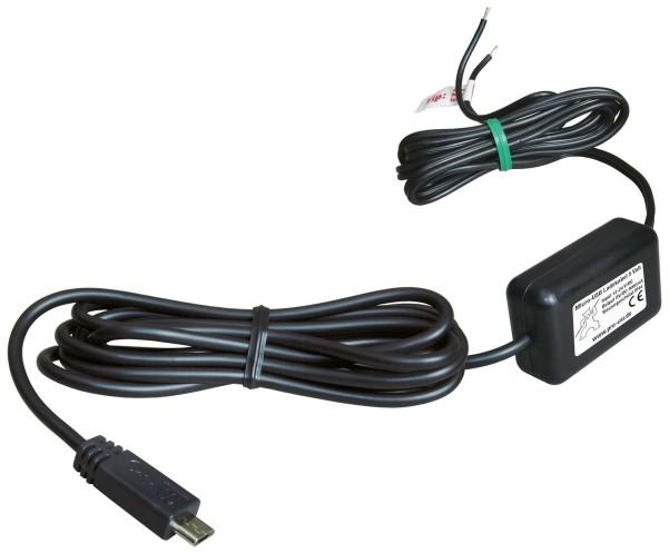 12/24 V Ladekabel zu Micro-USB