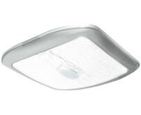 Lumière LED 12V carrée argent, 177x177x20mm
