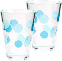Berger plastic glasses Bubble set of 2 turquoise