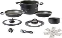 Ensemble de casseroles en aluminium Brunner Pirate Vacublock 9 pièces.