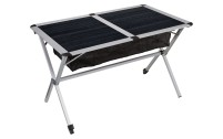 Table à roulettes Berger en aluminium 115 x 78,5 cm