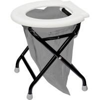 Toilette pliante Yachticon blanche