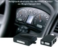 Jeu de câbles adaptateurs Magic Speed MS-800 Renault Master