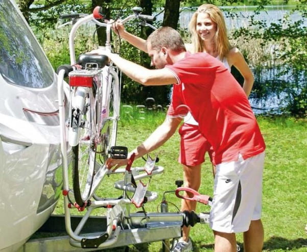 Porte-bagages XL A Pro 200 E-Bike max.50kg, pour 2 E-Bikes