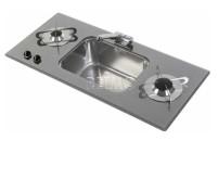 Spüle-Kocher Kombination Can 800x365x47+150mm 2fla mmig OHNE PIEZO !!!