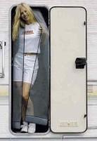 Rideau de porte anti-moustiques, réglable en hauteur