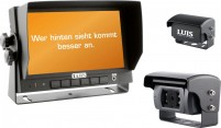 LUIS R7-S Rückfahrsystem mit Shutter Kamera - 180° schwarz