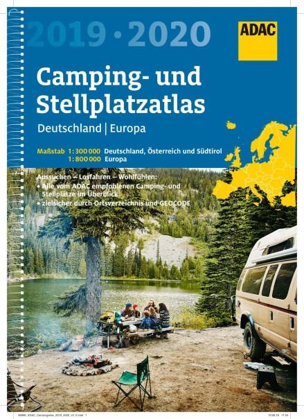 ADAC Camping- und Stellplatzatlas Deutschland & Europa 2019