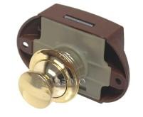 Push Lock - Möbelschloss gold