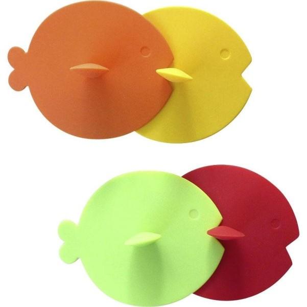 Gimex Silikondeckel Set Fisch Rainbow