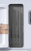 Arisol Kordelvorhang 190 x 60 cm grau