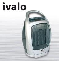 Radiateur soufflant céramique Ivalo, 750/1500W