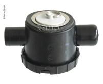 Siphon 39mm avec crépine en acier inoxydable pour système d'évacuation des eaux usées