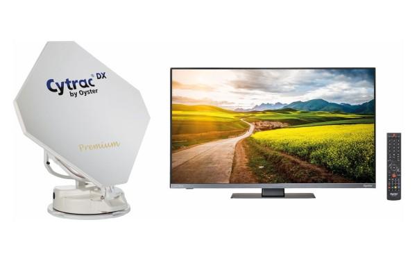 """Sat-Anlage Cytrac TWIN DX Premium Cytrac DX TWIN Premium + 21,5"""" TV"""