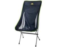 Chaise pliante RIVERSIDE black-lime, ultralégère