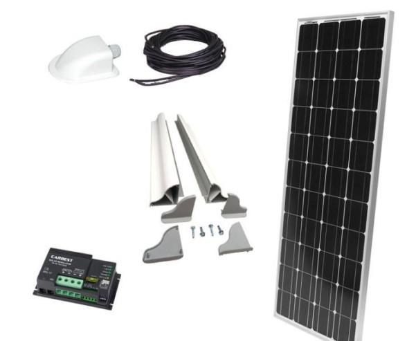 Solaranlage Carbest 1x120 Watt CB-120S Set