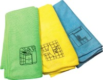Berger Reinigungstücher 3er Set  Microfasertücher