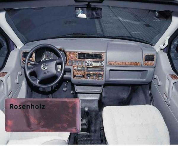 Armaturenveredelung Rosenh.dunkel VW T4
