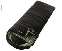 Deckenschlafsack Camper Lux, schwarz/innen gemuste rt$ 235x90cm