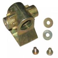Écrou de broche métallique AL-KO d'environ 20 mm pour le support de stabilisation