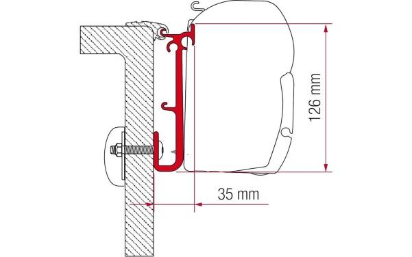 F45 Kit Caravan Caravan, 3 Halterungen