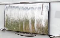 Tapis thermique Hindermann pour fenêtre de caravane 190 x 80 cm