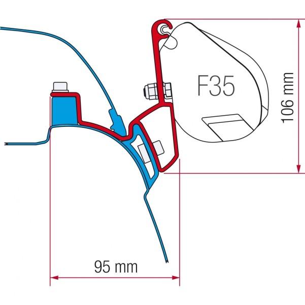 Fiamma F35 Pro Kit VW T5 California