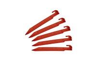 Pack de 5 chevilles en plastique Berger de 30 cm